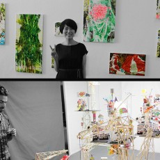 Exposición del Intercambiador: Bruno Lavos y Tomoko Hasuwa