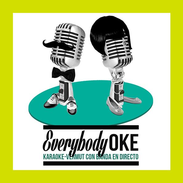 Everybody-OKE . Sesión de Karaoke Participativo.
