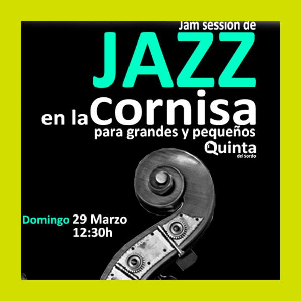 Jazz en la Cornisa Jam session Marzo