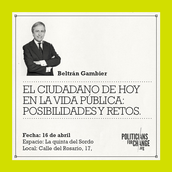 Politician For Change  ¿Cambiamos?