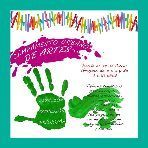 CAMPAMENTO URBANO de ARTES