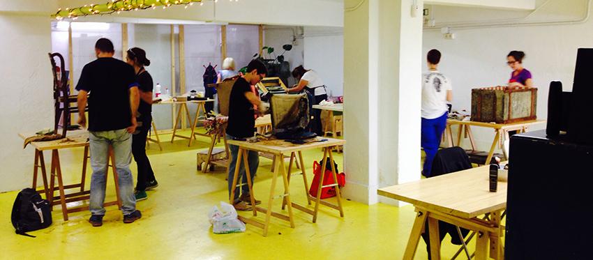 Taller de tapicer a y reutilizaci n de muebles quinta - Talleres de tapiceria ...