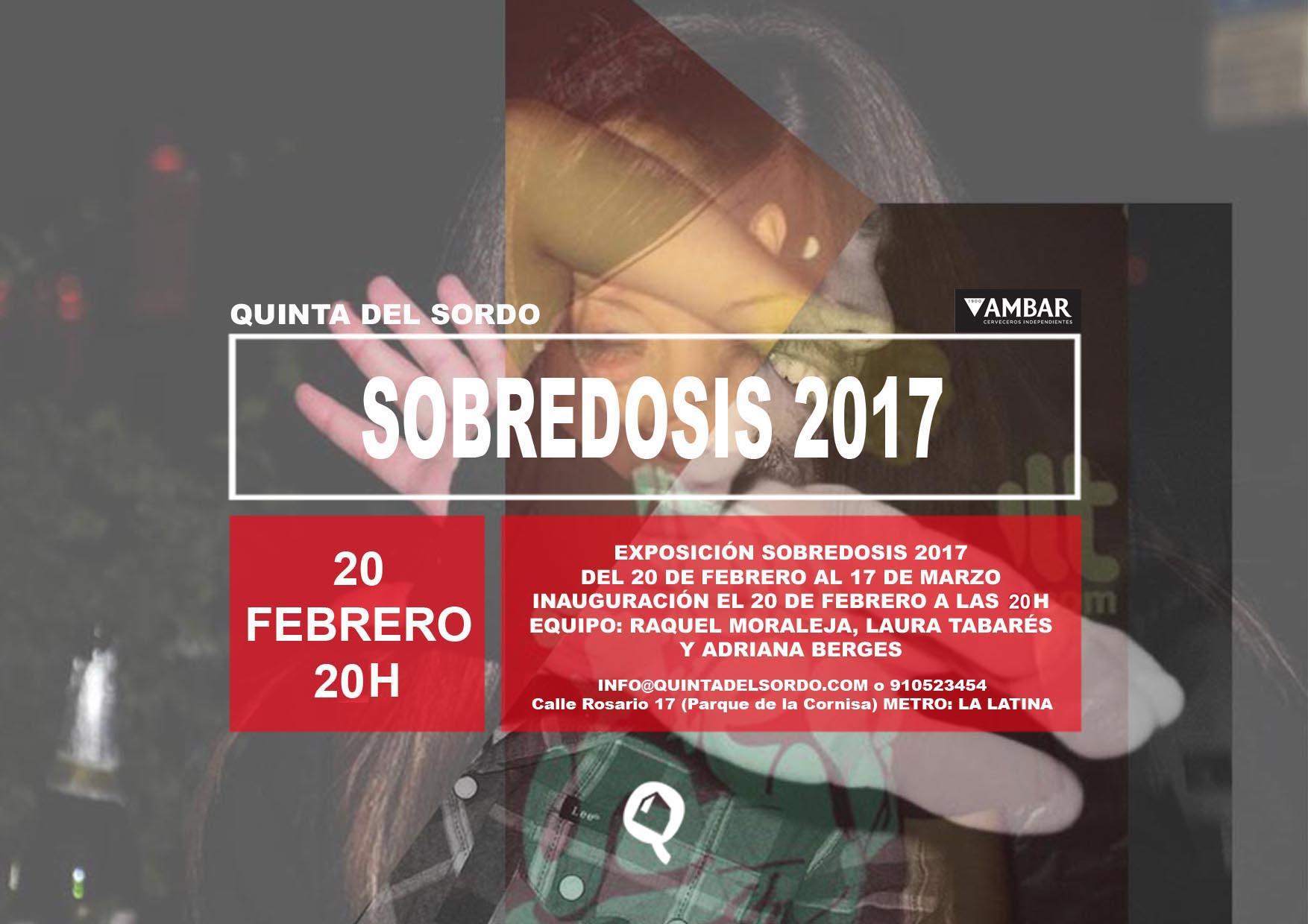 CARTEL SOBREDOSIS