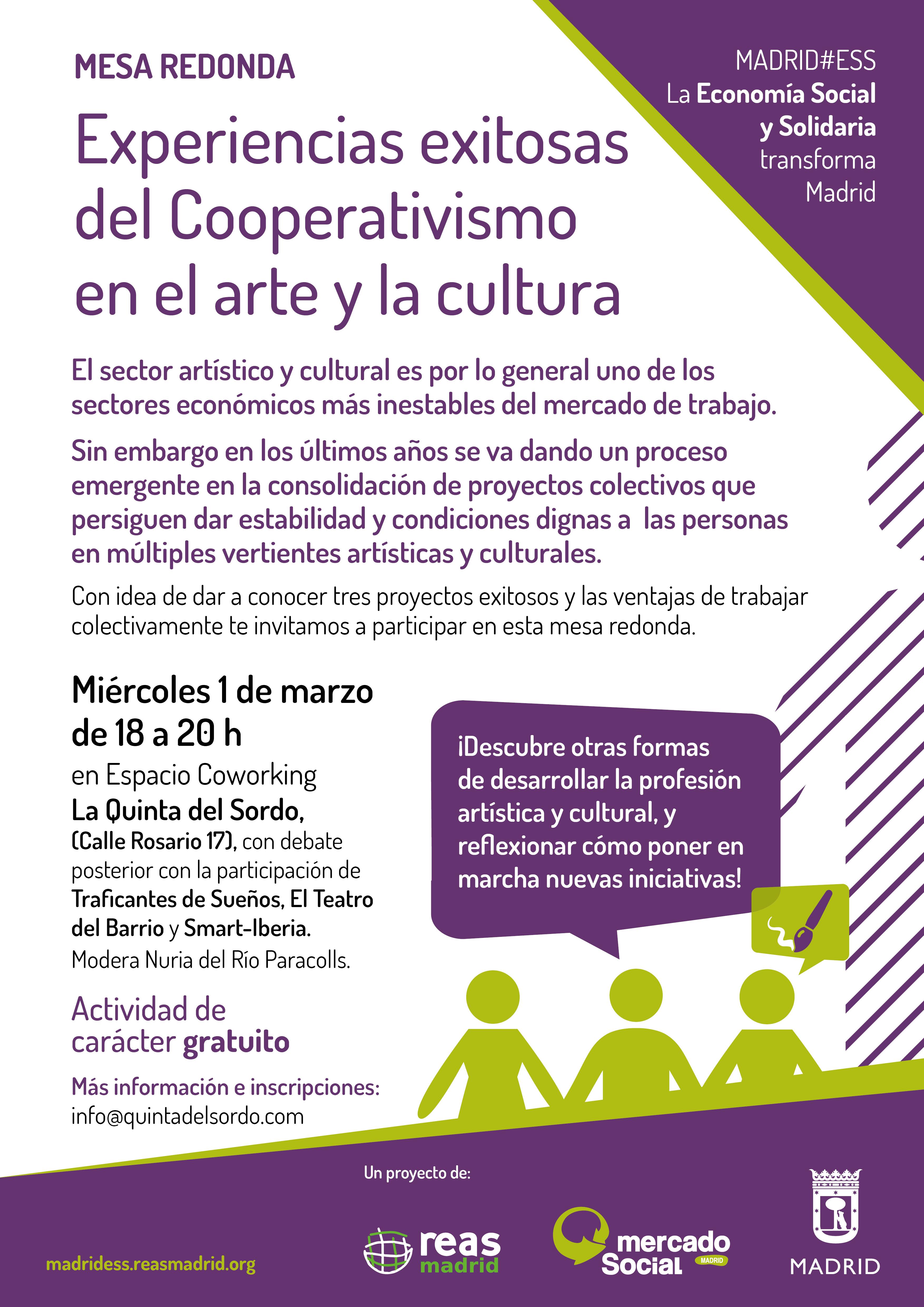 Experiencias exitosas del Cooperativismo en el arte y la cultura