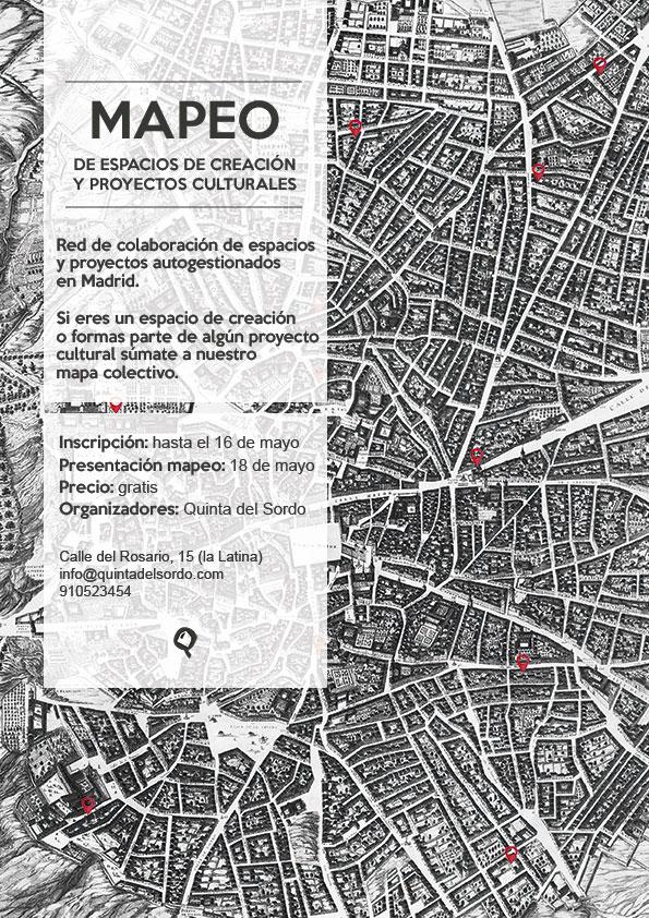 Mapeo Cultural De Madrid Quinta Del Sordo