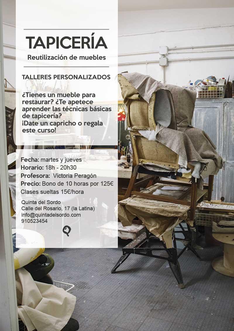 Reciclado de muebles y tapicer a talleres personalizados - Talleres de tapiceria ...